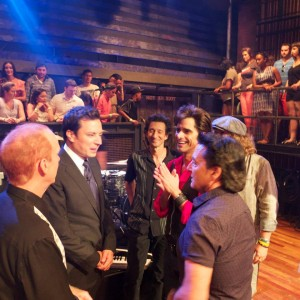 Jimmy Fallon with Jesse & The Rippers